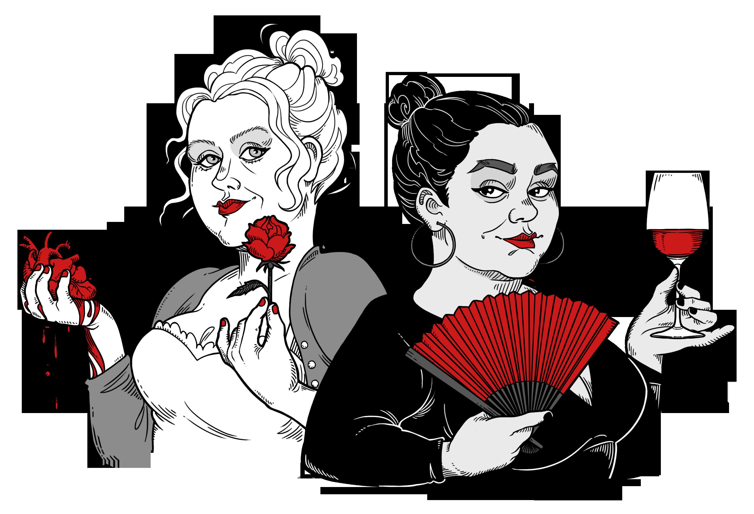 Caisa och Cecilia